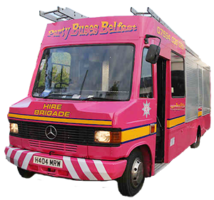Pink Fire Engine Hire Belfast